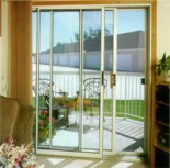 Sliding Glass Door Solar Shade Screen Panels to Block Sun Glare & UV Rays